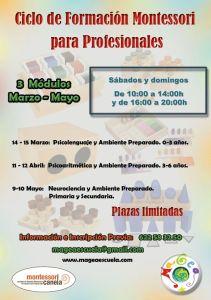 Ciclo Montessori en MAGEA – Plazas Libres